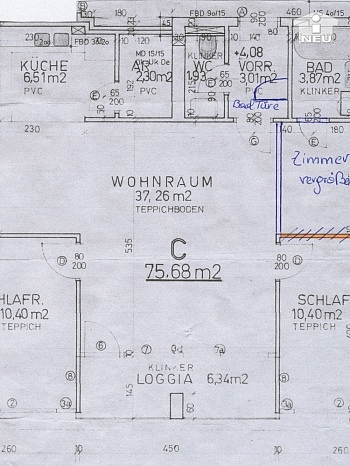 Wohnung sonnige Zugang - Sonnendurchflutete 3-Zi-Wohnung in Welzenegg