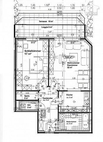 mitten fixer Hoher - Hochwertige-Ruhige 2 Zi-Gartenwohnung in Waidmannsdorf
