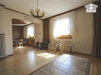 Vollkeller Wohnzimmer südseitig - Idyllisches Wohnhaus in absoluter Sonnenlage in Klagenfurt