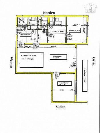 - SCHNÄPPCHEN!!!  Ruhige 3 Zi-Wohnung in Biedermannsdorf bei Mödling