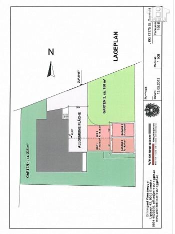 großes Wohnung flaches - 100m² 5 Zi Gartenwohnung in der Seegasse