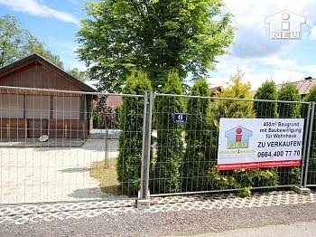 Nutzfläche Verfügung Klagenfurt - 400m² Baugrund in Viktring - 50m zum Sattnitzufer
