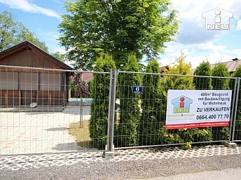 Wohnfläche Berechnung Verfügung - 400m² Baugrund in Viktring - 50m zum Sattnitzufer