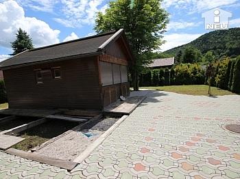 Augustusgasse Holzhäuschen Parkflächen - 400m² Baugrund in Viktring - 50m zum Sattnitzufer
