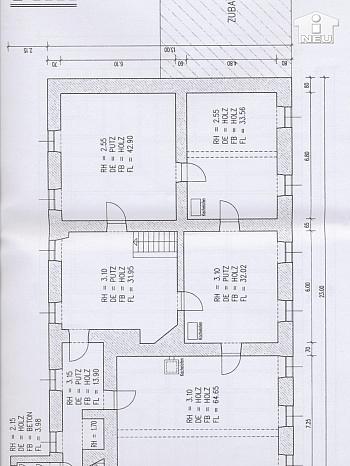 Bereich Kubatur große - Historische Liegenschaft mit Nebengebäude und Stall in Grades