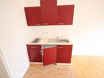 Küche Elektroheizkörper Kunststofffenster - 2 Zi Wohnung in Klagenfurt - Morrestrasse