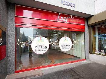 Autoabstellplatz Geschäftslokal Bahnhofstrasse - Geschäftslokal 61 m² in der Bahnhofstrasse