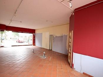 anschließendem straßenseitig Raumaufteilung - Geschäftslokal 61 m² in der Bahnhofstrasse