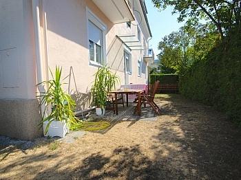 Laminat eigenst saniert - Helle, gepflegte 3-Zi-Gartenwohnung