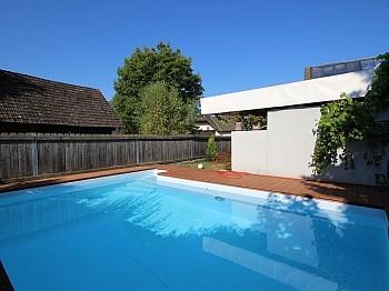 Waschmaschine großzügiger Fliesenböden - Heimeliges Einfamilienhaus mit Pool in Leibsdorf