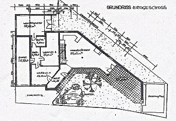 Strom Sauna Diele - Heimeliges Einfamilienhaus mit Pool in Leibsdorf