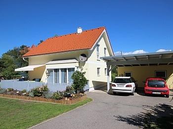 Carportplätze Doppelcarport Fliesenböden - Neues 120m² Wohnhaus in Glanegg