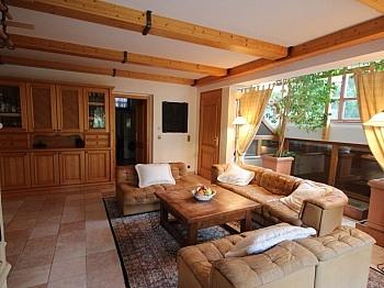 Möblierung Indoorpool Ländliche - Neuwertige Villa in Moosburg