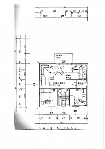 Rollos ruhige Sofort - Neuwertige 3 Zi Penthousewohnung - Linsengasse