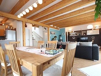 Fliesenböden eingezäuntem vorbereitete - Neuwertiges Einfamilienhaus Klagenfurt/Limmersdorf