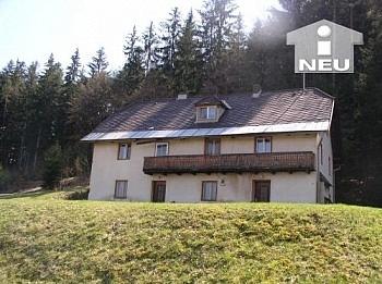 Grund Renovierungsbedürftig Wörtherseenähe - Wörtherseenähe, altes Bauernhaus mit 8.000m² Grund