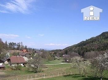 Fernblick unbekannt vorhanden - Wörtherseenähe, altes Bauernhaus mit 8.000m² Grund
