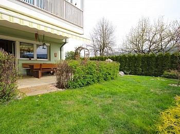 Gartenhaus Terrasse Gäste - Helle 4-Zi-Eckgartenwohnung am Ossiachersee