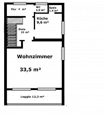 - 140m² 4 Zi Maisonettenwhg. Waidmannsdorf Mozartstr