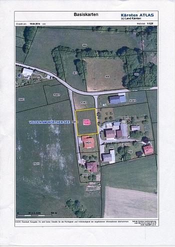 Aussichtslage traumhafter Aussicht -  Toller Baugrund in Weinzierl/Velden am Wörthersee
