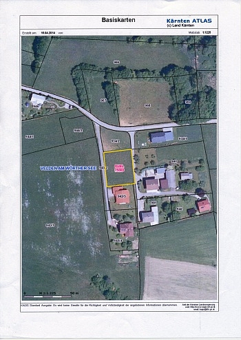 wunderschöne traumhafter Aussicht -  Toller Baugrund in Weinzierl/Velden am Wörthersee