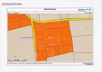 gewidmet Bauland Kaution -  Toller Baugrund in Weinzierl/Velden am Wörthersee