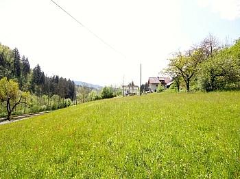 Baugrundstück Stromkästen Leitungsplan - Sonniger Baugrund in St. Urban/Feldkirchen