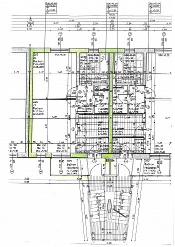 beträgt Westlage Stadtgas - Schöne 2 Zi Wohnung 52m² in Tessendorf