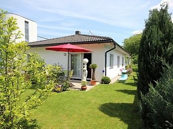 Westterrasse Badewanne großes - Neuer 100m² Bungalow in Waidmannsdorf
