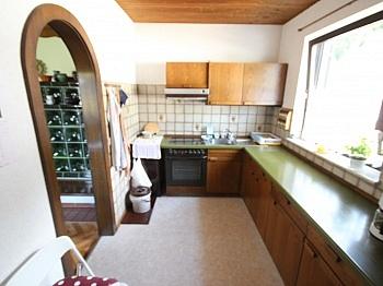 Wohnzimmer Werkstatt Esszimmer - Schöne Doppelhaushäfte in Maria Rain