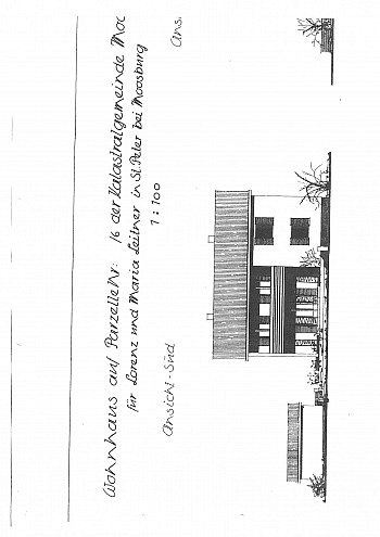Erdgeschoss Abstellraum Gemeindeamt - Saniertes Zweifamilienwohnhaus 185m² in Moosburg