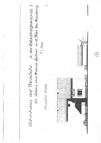 Vollkeller Dachrinnen Wohnküche - Saniertes Zweifamilienwohnhaus 185m² in Moosburg