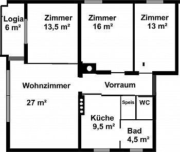 Badewanne Reichlich Rücklage - Sehr schöne 4-Zimmerwohnung in St.Martin