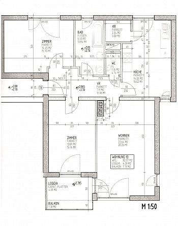 incl Glan KIKA - Neuwertige 3 Zi Wohnung in guter, zentraler Lage