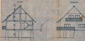 Baufl West Plan - Idyllisches Bauernhaus/Weberkeusche Michaelaberg