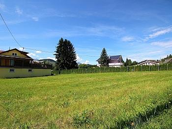 Wasseranschluss Baugrundstück aufgeschlossen - Sonniger Baugrund in Emmersdorf/Rosegg