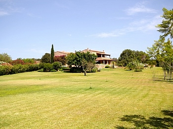 Außenbeleuchtung aussagekräftigem Außenpoolanlage - Finca in Nähe San Lorenzo - Mallorca