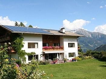 Terrasse Solarium Technik - 3 Sterne Hotel in Virgen/Nationalpark Hohe Tauern