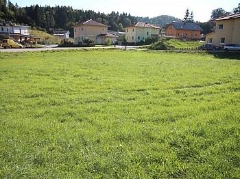 Asphaltierung Bankgarantie Grundgrenze - Schöne Eckparzelle 1.114m² in Köttmannsdorf-Aich