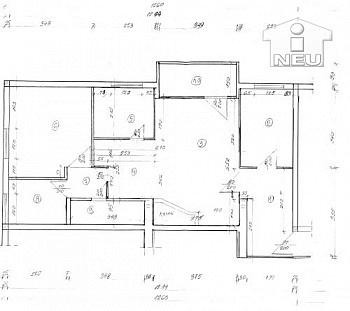 Übernahme Warmwasser Rücklagen - Offener Kamin! TOP 3 Zi Wohnung 75m² in Waidmannsdorf