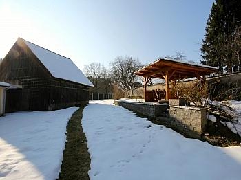 wunderschönem Bushaltestelle ausbaufähigen - Idyllische Liegenschaft in Feistritz im Rosental