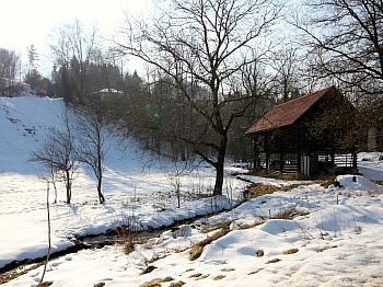 Obergeschoss Grundsteuer Geräteraum - Idyllische Liegenschaft in Feistritz im Rosental