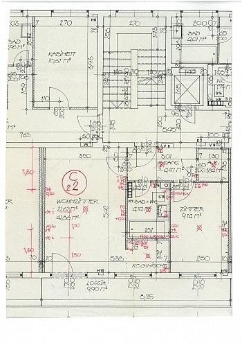 Schöne offener großes - Schöne 2 Zi Stadtwohnung 52m² - Zentrum
