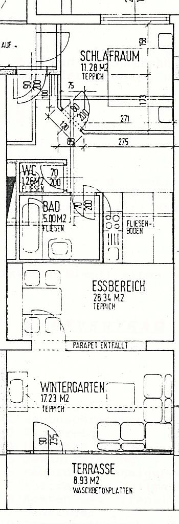 komplett Südlage zentrale - Helle 2-Zi-Wohnung in Bad Kleinkirchheim