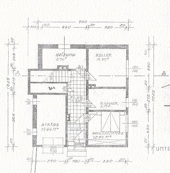 separates Grundriss erbautes - Modernes Wohnhaus in Velden am Wörthersee