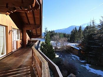 Terrassenfläche Luftwärmepumpe Abstellplätze - Perfektes Zweifamilienwohnhaus in Dellach/Drau