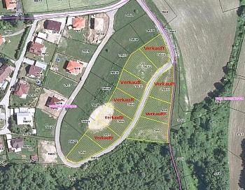 Aussichtslage öffentliches Asphaltierung - Traumhafte Baugründe mit Aussicht in Köttmannsdorf - Aich