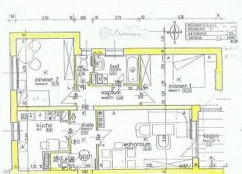 Bindung Parkett Zustand - Sonnige 3-Zi-Wohnung in der Mozartstraße Nähe Uni