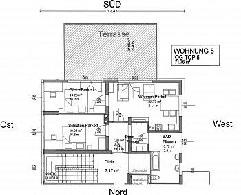 - Neue 3 Zimmer Gartenwohnung in Reifnitz