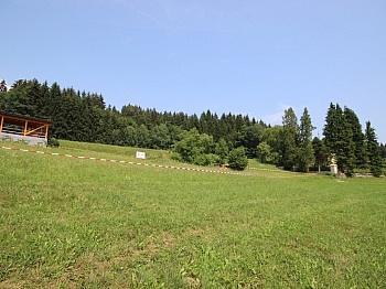 Karawanken Kärntner Aussicht - Wunderschöner Baugrund nähe Forstsee Ruhelage